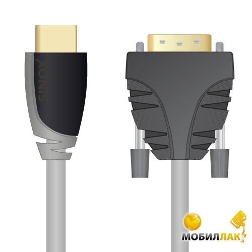 Sinox SX Plus DVI - HDMI, 5.0m (SXV1105) MobilLuck.com.ua 206.000