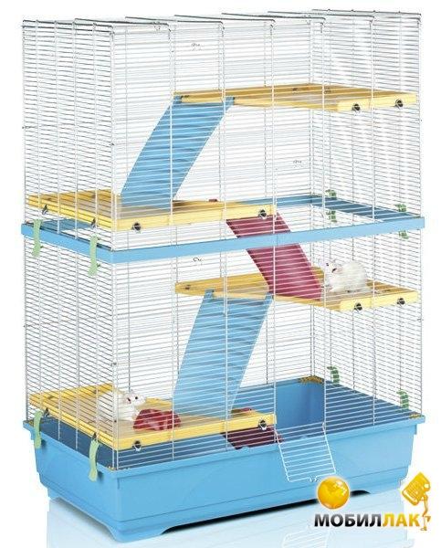 imac Imac (Rat 80 double) для крыс, пластик , 80х48,5х110 см. см., голубой см. (02805)