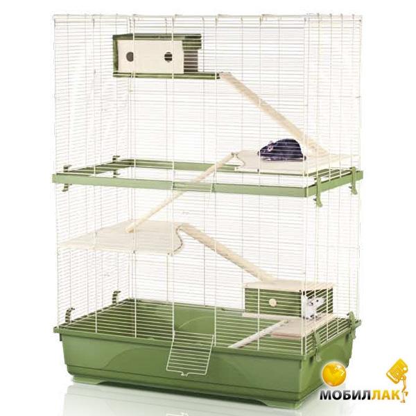 imac Imac (Rat 80 double wood) для крыс, пластик , 80х48,5х108,5 см. см., зеленый см. (14475)