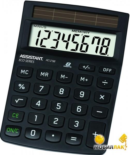 Калькулятор Assistant AC 2196 Eco