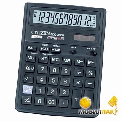 Калькулятор Citizen SDC-382