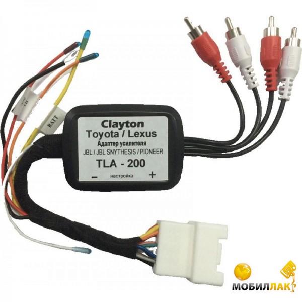 Clayton TLA-200 Toyota/Lexus Clayton