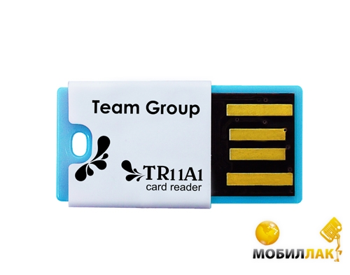 Team microSD/microSDHC USB 2.0 Blue (TR11A1) Team