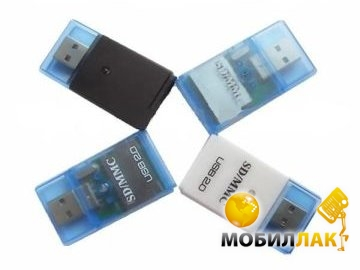 PowerPlant (4 in 1) box: SD, MMC, RS-MMC, MINI SD MobilLuck.com.ua 79.000