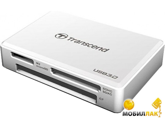Transcend Multi USB 3.0 White (TS-RDF8W) Transcend