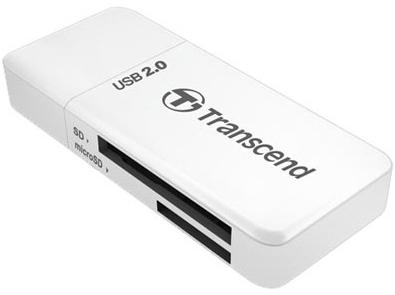 Transcend 5-in-1 USB2.0 White (TS-RDP5W) Transcend