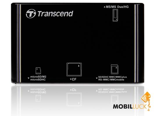 Transcend USB2.0 Black (TS-RDP8K) Transcend