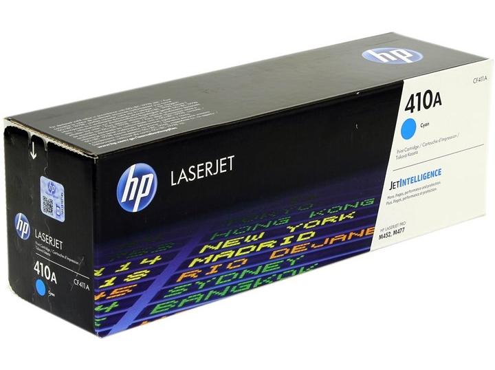 Картридж лазерный HP 410A (CF411A) Cyan