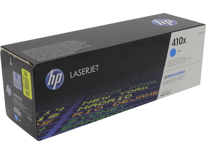 Картридж лазерный HP 410X (CF411X) Cyan