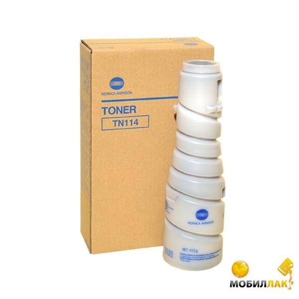 Minolta Тонер-картридж/KONICA Di152/183/1611/2011, BIZHUB 162 Toner (MT-106B=TN114, 413g, 6.5K, @6%) Minolta