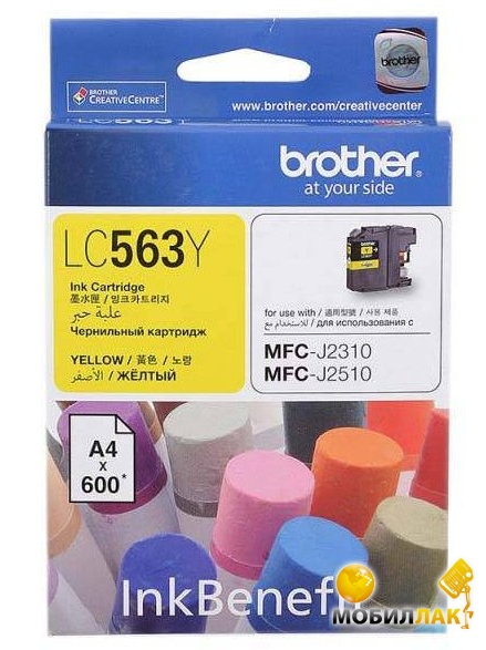 Brother LC563Y MobilLuck.com.ua 152.000