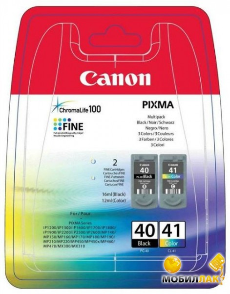 Canon PG-40Bk/CL-41 Multi Pack Canon