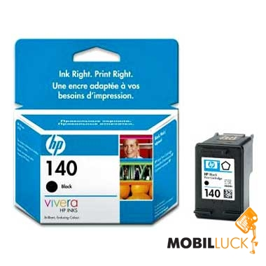 HP No.140 black (CB335HE) MobilLuck.com.ua 358.000