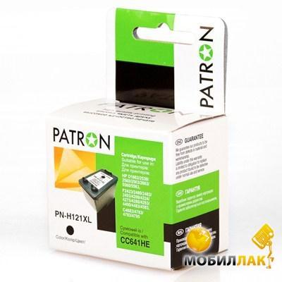 Patron HP PN-H121XL Black CC641HE (CI-HP-CC641HE-B-PN) Patron