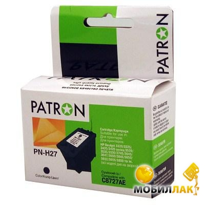 Patron HP PN-H27 Black (C8727AE) Patron