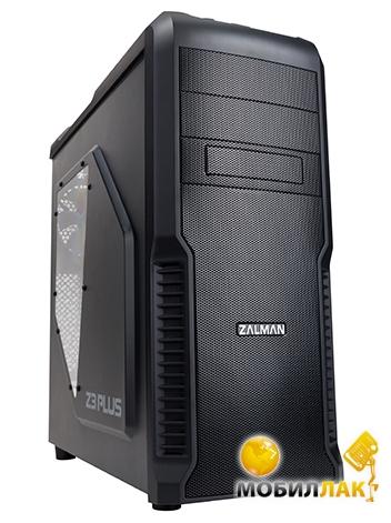Zalman Z3 Black Steel/Plastic, Mid Tower Zalman