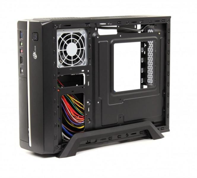PrologiX M00/001 Black PSMS-400-8cm MicroATX/ITX USB 3.0 PrologiX