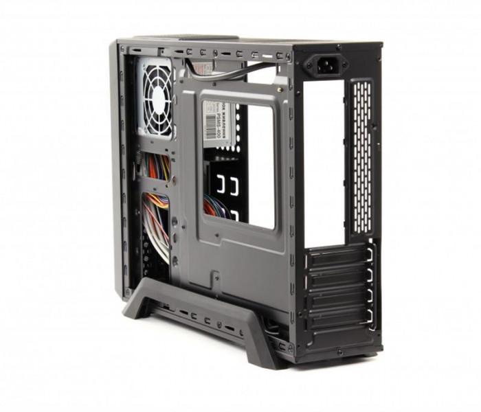 PrologiX M00/002 Black PSMS-400-8cm MicroATX/ITX PrologiX