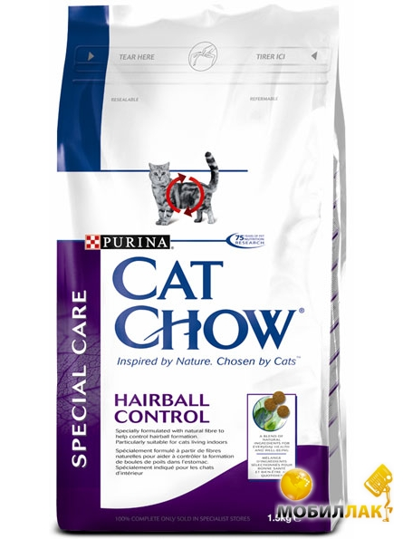 Cat Chow Special Care Hairball Control 15кг MobilLuck.com.ua 685.000