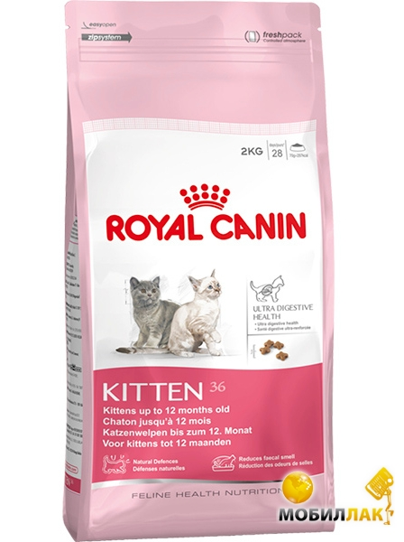 Royal Canin Kitten 36 2кг MobilLuck.com.ua 226.000