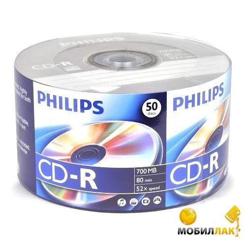 Philips CD-R 52x Bulk 50 MobilLuck.com.ua 18.000