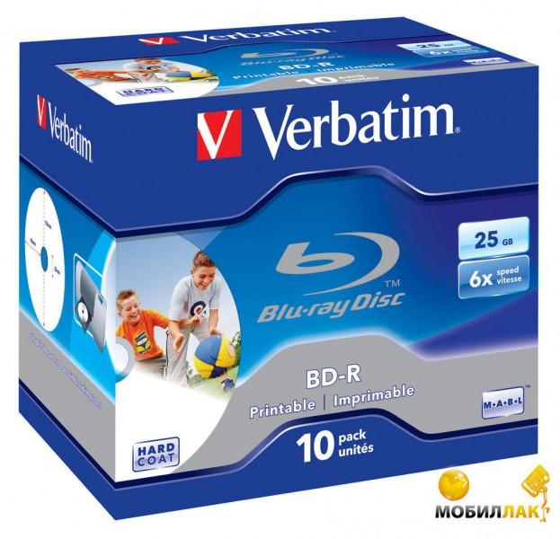 Verbatim BD-R 25GB 6x Cake 10шт (43713) MobilLuck.com.ua 262.000