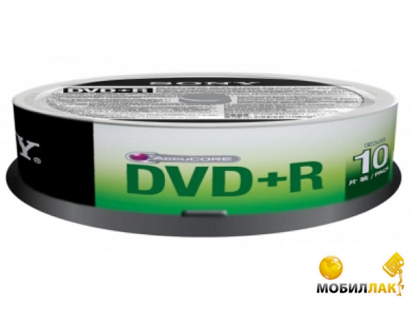 Sony DVD+R 4.7GB 16x CakeBox 10 (10DPR47SP) MobilLuck.com.ua 21.000