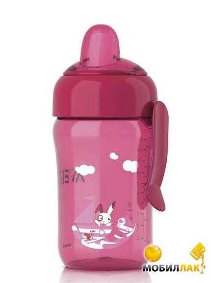 Philips Чашка с носиком Avent 340 мл. Быстрый поток розовая (SCF754/00) MobilLuck.com.ua 116.000