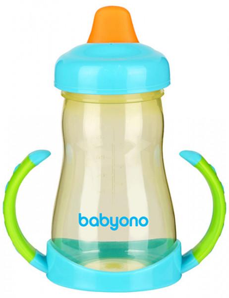 BabyOno Кружка-непроливайка Голубо-зеленый (208) BabyOno