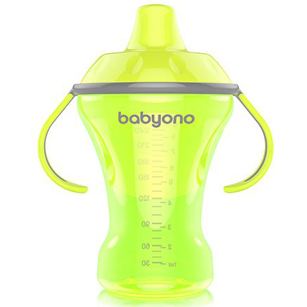 BabyOno Natural Nursing С мягким носиком Зеленая 260 мл  (1457) BabyOno