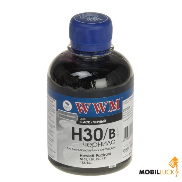 WWM HP C8766/C9361/C9363 Black 200г (H30/B) MobilLuck.com.ua 59.000