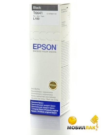 Контейнер с чернилами Epson L100/ L200 Black, 70 ml (C13T66414A)
