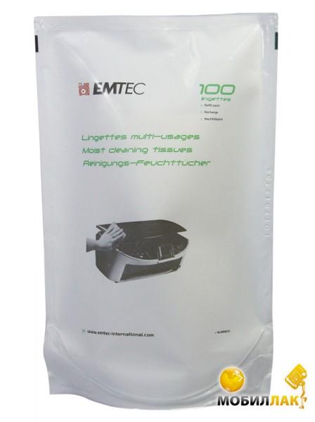 Emtec Clean Wipes Refill 100 pcs (EKNLINRECH) MobilLuck.com.ua 44.000