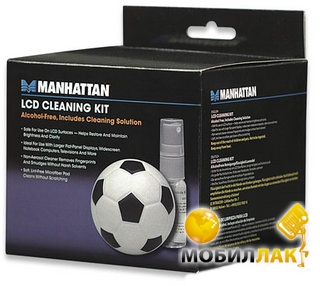 Manhattan LCD Cleaning Kit, Soccer (423168) MobilLuck.com.ua 71.000