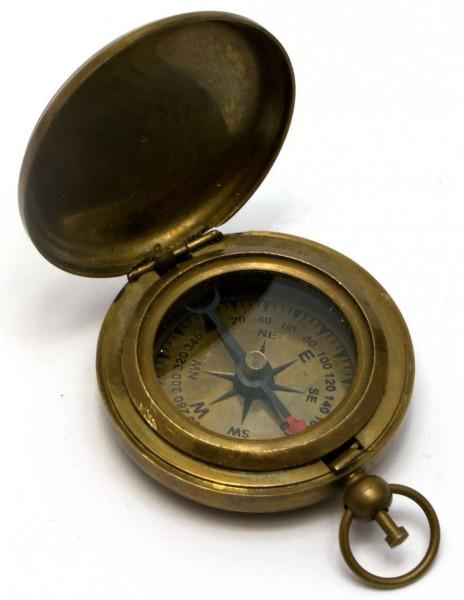 Даршан Brass Pocket Compass - 1.75in 6,5х5х1,5 см (28234) Даршан