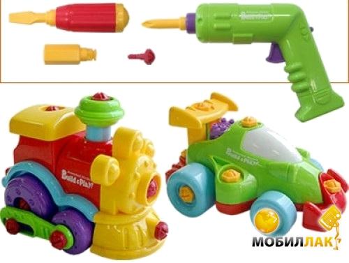 KeenWay Машина и Поезд, конструктор (K11861) MobilLuck.com.ua 352.000