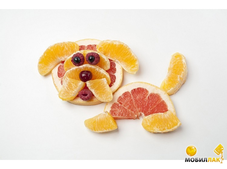 Как сделать из фруктов животного по