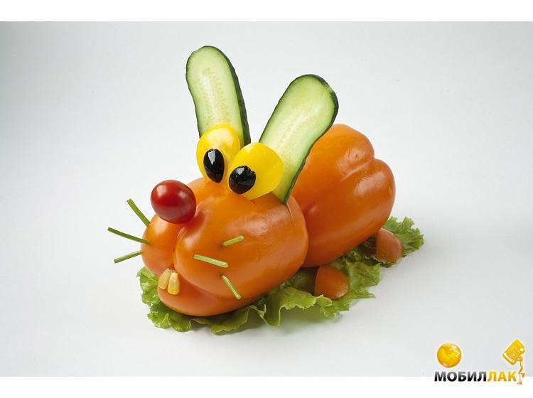 Фигуры из овощей своими руками