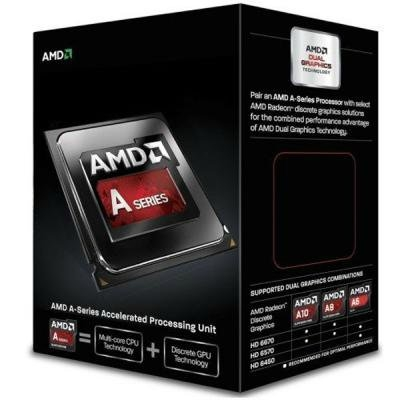 Процессор AMD A10 X4 7860K (Socket FM2+) Box (AD786KYBJCSBX)