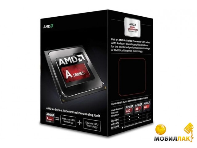 AMD Richland A8-6500 3.5GHz 4MB (AD6500OKHLBOX) sFM2 Box MobilLuck.com.ua 1654.000