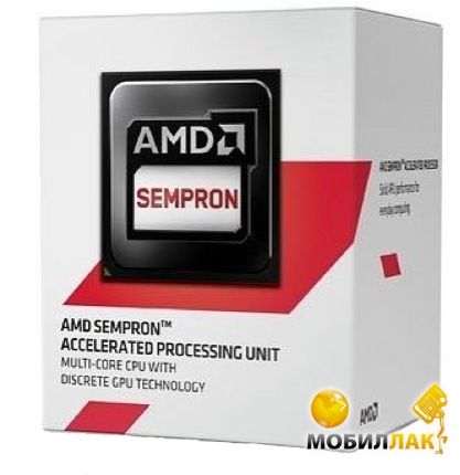 Процессор AMD Sempron X2 2650 1.45GHz 1MB (SD2650JAHMBOX) sAM1 BOX