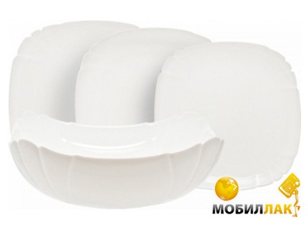 Luminarc Lotusia H3902 white (30 предметов) Luminarc
