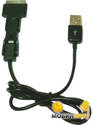 Global micro USB шлейф, 1м Черный MobilLuck.com.ua 76.000