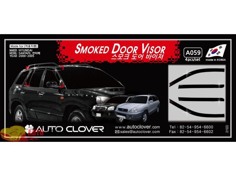 auto clover Auto Clover AC A076 Hyundai Tucson 2004 4 шт Черные