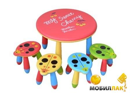 Lindo Стол + 4 стула (ТН002) MobilLuck.com.ua 738.000