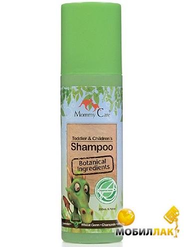 Mommy Care Детский шампунь-уход с органическими маслами оливы и ши, алоэ, розмарином 400 мл (491474) Mommy Care