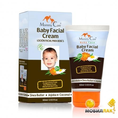 Mommy Care Увлажняющий детский крем для лица с маслами ши и жожоба, без запаха 60 мл (952379) Mommy Care