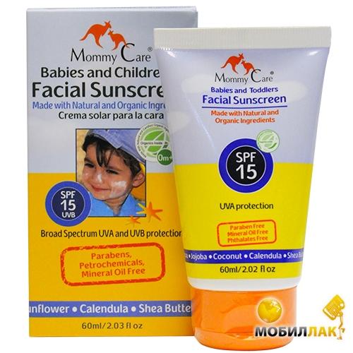 Mommy Care для детей с рождения (SPF-15, 60 мл) (491122) Mommy Care