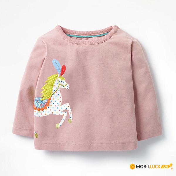 14a3803b5 Кофта для девочки Little Maven Лошадка (4 года) (Розовый) (46930). Купить  Кофта для девочки Little Maven Лошадка (4 года) (Розовый) (46930).