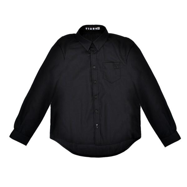 cc7ce74c96b Рубашка для мальчика Timbo Armi р. 32 (128см) Черная. Купить Рубашка ...